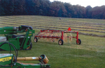 Dudgeon Farm Hay Fields with Equipment