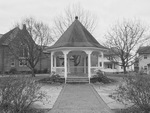 Bandstand in Fredericktown from Corner of Sandusky St. and S Main St.