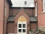 Fredericktown Presbyterian Arched Entryway with Lantern