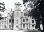 Ascension Hall at Kenyon from Middle Path