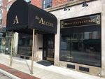 The Alcove Restaurant Entrance and Windows in Mount Vernon