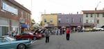 Car Show for First Friday in Mount Vernon