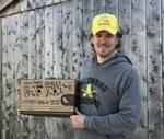 Benji Ballmer Showing Off Yellowbird Foodshed Apparel