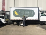 Yellowbird Foodshed Delivery Truck by Bryant Brothers Creative