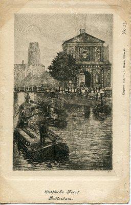 Delfloche Poort Rotterdam.