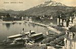 Seebrücke u. Pilatus
