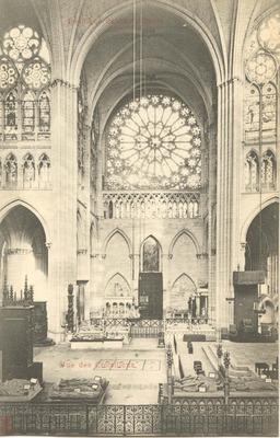 Basilique de Saint-Denis Vue des Croisillons