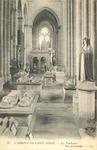 L'Abbaye de Saint-Denis - Les Trombeaux. Vue d'ensemble
