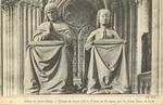 Abbaye de Saint-Denis - Groupe de Louis XII et d'Anne de Bretagne