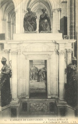 L'Abbaye de Saint-Denis - Tombeau de Henri II et de Catherine de Medicis
