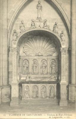 L'Abbaye de Saint-Denis - Tombeau de Rene d'Orleans de Longueville