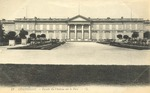 Facade du Chateau sur le Parc
