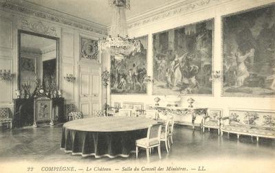 Le Chateau - Salle de Conseil des Ministres