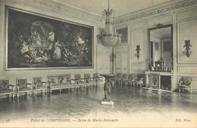Palais de Compiegne - Salon de Marie-Antoinette