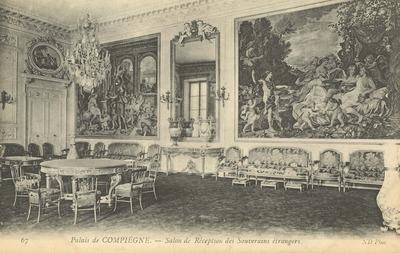 Palais de Compiegne - Salon de Reception des Souverains etrangers