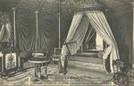 Chateau de la Malmaison - Chambre a coucher de l'Imperatrice Josephine