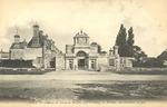Chateau de Diane de Poitiers - Le Portail, vue exterieure de face