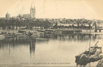 Vue génerale prise du Pont de la Haute-Chaîne