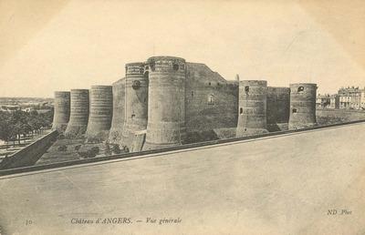 Château d'Angers - Vue Générale