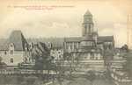 Abbaye de Fontevrault Vue de l'Absiede de l'Eglise
