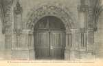 Abbaye de Fontevrault. - Porte de la Salle Capitulaire