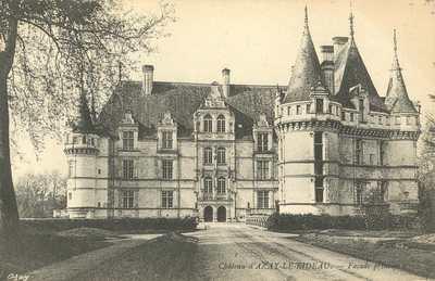 Château d'Azay-le-Rideau - Façade principale
