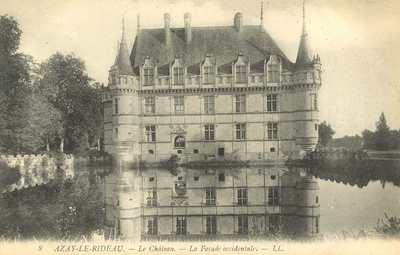 Le Château - La Façade Occidentale