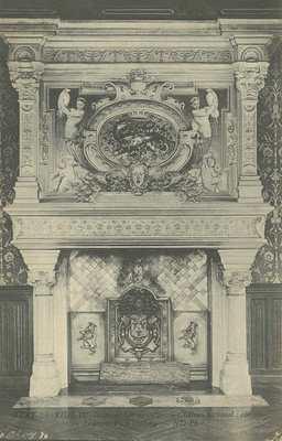 Château National : cheminée Françoise I