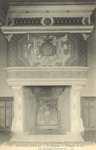 Le Château - Chambre du Roi. La Cheminée François I