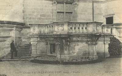 Châteay d'Azay-le-Rideau - Escalier