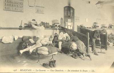 La Caserne - Une Chambrée