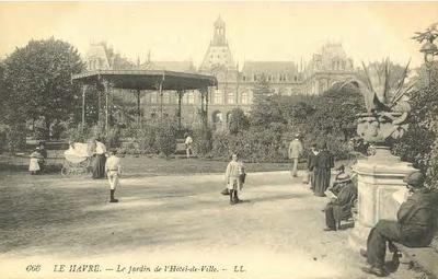 Le Jardin de l'Hôtel-de-Ville