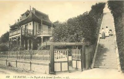 La Pagode et le Grand Escalier