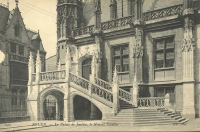 Le Palais de Justice, le Nouvel Escalier