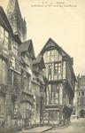 Rouen Vielle Maison du Xe siècle Rue Saint-Romain