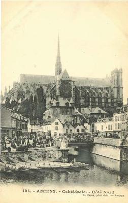 Cathédrale - Côté Nord