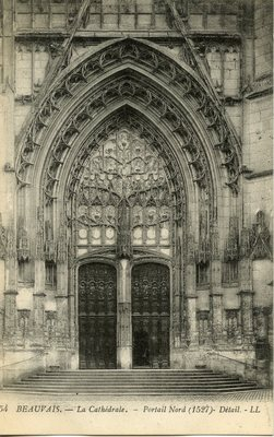La Cathedrale - Portail Nord