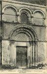 L'Eglise Saint-Etienne - Portail lateral