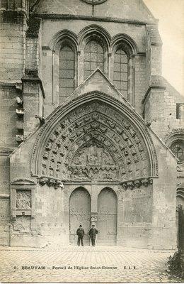 Portail de l'Eglise Saint-Etienne