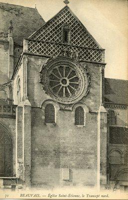 Eglise Saint-Etienne, le Transept nord