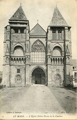 L'Eglise Norte-Dame de la Couture