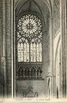Cathedrale du Mans - La grande Rosace
