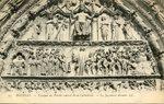 Tympan du Porche central de la Cathédrale