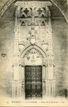 La Cathédrale - Porte de la Sacristie