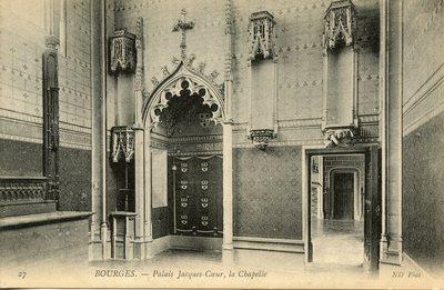 Palais Jacques-Coeur, la Chapelle