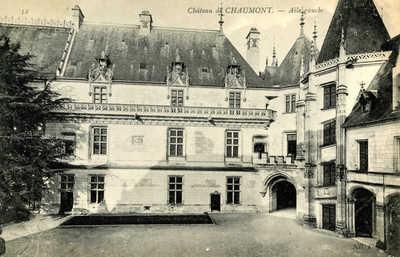 Chateau de Chaumont - Aile gauche