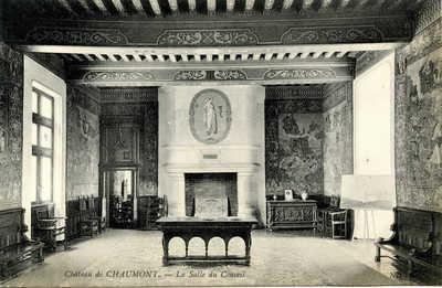Chateau de Chaumont - La Salle du Conseil