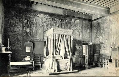 Chateau de Chaumont - Chambre á Coucher de Catherine Médicis