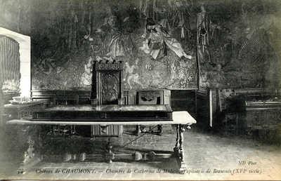 Chateau de Chaumont - Chambre de Catherine Médicis