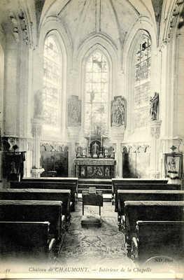 Chateau de Chaumont - Intérieur de la Chapelle